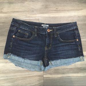 Mossimo Supply Co Frayed Hem Shorts